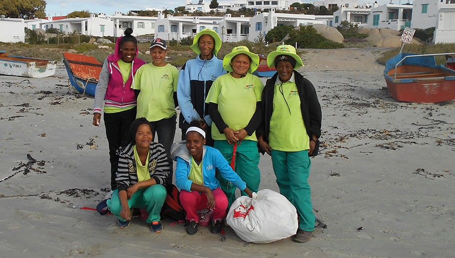Paternoster Beach Clean up Team